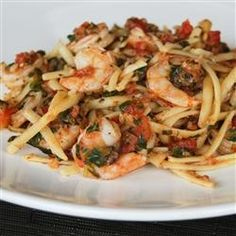 Fresh Tomato Shrimp Pasta Recipe