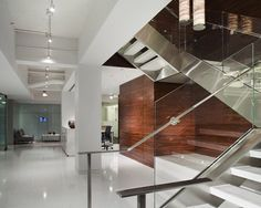 law firm design stairs | ted moudis architecture offices