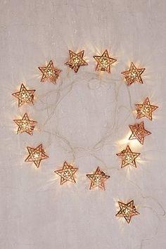 copper star string lights home pinterest star string lights