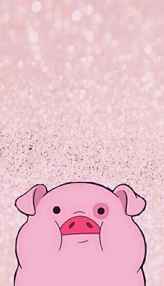 Adorable girly waddles wallpaper from #gravityfalls