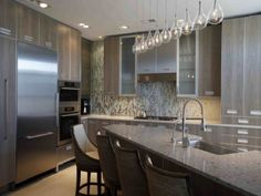 Two Options for Composing the Idea about Staining Kitchen Cabinets