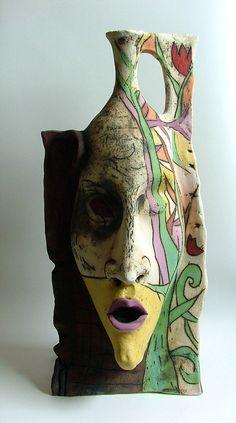 Israeli ArtGallery , ceramic sculpture   Vases