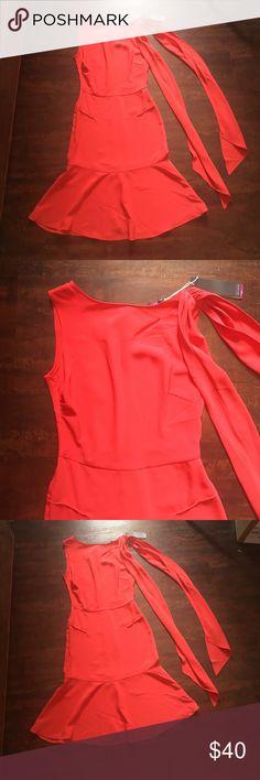 Sophie Theallet slim fit bottom flare red dress Sophie Theallet slim fit bottom flare red dress Sleeveless Sophie Theallet Dresses