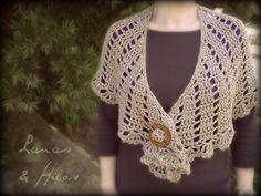 CHALSUNSPREE [Made by / Hecho por: Beatriz] Artisan Argentinian yarn Crochet Hook: 5.5 mm (US I) The SUNSPREE SH...