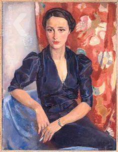 Jan Sluijters, Portret van mevrouw Frankfurther (1906-1994)