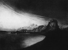 Christopher Knox intaglio prints of Northumberland & Sussex landscapes