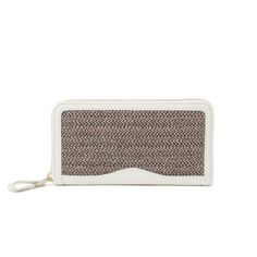 bjirushi (beams x porter) Summer Wallet Grey - love the colour scheme