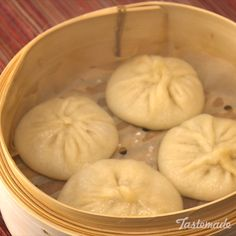 "These soup dumplings will make you wonder, ""To slurp or not to slurp?"" Save the recipe on our app! http://link.tastemade.com/HE7m/H1wHe4m2mA"
