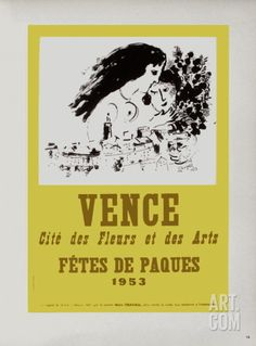 AF 1953 - Vence Fêtes De Pâques Collectable Print by Marc Chagall at Art.com