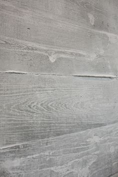 Concrete Wood Form Fireplace Surround - modern - fireplaces - atlanta - by Turning Stone Design Board Formed Concrete, Concrete Sink, Concrete Fireplace, Concrete Table, Poured Concrete, Concrete Furniture, Concrete Countertops, Fireplace Design, Concrete Fence