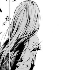 Kizu (KIYOHARA Hiro) manga girl sad alone tumblr cute cry long hair