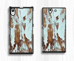 paint wood sony case,art Sony xperia Z case,old style Sony xperia Z1 case,blue wood Sony xperia Z2 case,sony hard case,old wood sony case