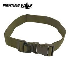 Nylon Durable Outdoor Belt Military Airsoft Equipment  Strong Rigid Strap Men's Belts for Tactical CS Field Wargame Sports