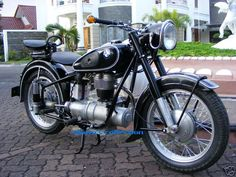 1954 bmw R25/3 3500 pounds