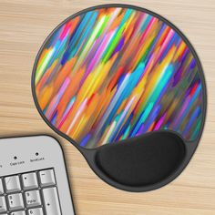 SOLD Gel Mousepad Colorful digital art splashing!   http://www.zazzle.com/gel_mousepad_colorful_digital_art_splashing-159993996547889263 #zazzle #Gel #Mousepads #office #mouse #pads #Colorful #digital #art #splashing #splash #colors #painting #abstract