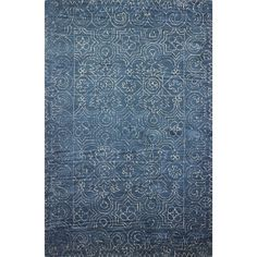 Anchor the master suite, spruce up the foyer, or add warmth to the family room with this area rug. Its durable construction holds up to foot traffic, too.