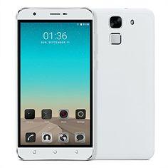 Black Friday [New Release]PADGENEreg; Unlocked L3 Fingerprint 3G Smartphone 5.5 inch HD Screen(1280*720) Android 6.0 Mobile Phone---MTK6580 Quad Core 1.3GHz1GB RAM   8GB ROM Dual Sim Dual Standby Dual Camera(2.0M/5.0M)WIFI GPS G-Sensor SIM-Free 2G/3G Smartphone Phablet (White) Deals week 3557