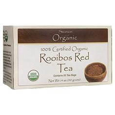 Swanson 100% Certified Organic Rooibos Red Tea 20 Bag(S) *** Check out the image by visiting the link.