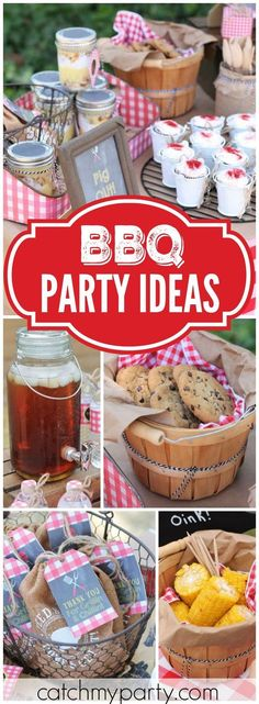 Thinking of having a BBQ party? Here are some BBQ party ideas that you can check Soirée Bbq, I Do Bbq, Bbq Bar, Summer Barbecue, Bbq Grill, Bbq Party Decorations, Bbq Food Ideas Party, Out Door Party Ideas, Birthday Bbq