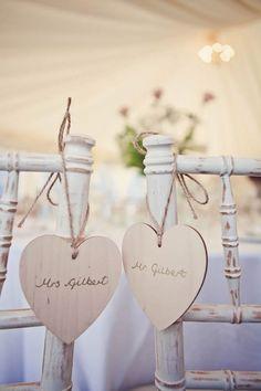 Decoración original para bodas: ASIENTOS ORIGINALES PARA NOVIOS