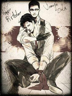 Happy Birthday Joseph Oda (The Evil Within)
