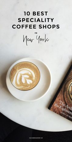 Coffee isn't a drink for me. It's a way of life! I adore visiting specialty coffee shops in New York. Here are the best I've found! Coffee Shop New York, Best Coffee Shops Nyc, Coffee Travel, Coffee Coffee, Coffee Time, Morning Coffee, Coffee Cups, Coffee Around The World, New York Travel Guide