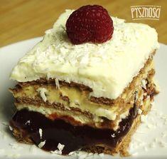 +10 prostych przepisów na ciasta bez pieczenia. Wyglądają jak z cukierni! Tiramisu, Ale, Cheesecake, Ethnic Recipes, Ferrero Rocher, Food, Diet, Kuchen, Ale Beer