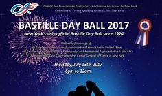 Bastille Day Ball 2017 at 404 Lounge  Thurs. Jul 13, 2017 6pm-1am