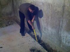 Basement Waterproofing Boston MA job 8