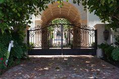 Beautiful Hand Made Victorian Style Estate Driveway Gates FL1 | eBay