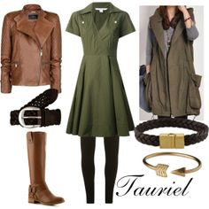 """Tauriel"" by winterlake25 on Polyvore"