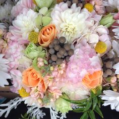 Bridal bouquet by Petal