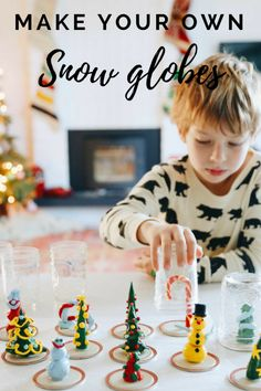 Holiday Craft  Make Your Own Snow Globes 9cc861af49c5