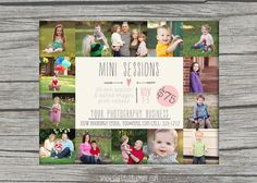 Mini Session Template - photography marketing template - fall mini session template - INSTANT DOWNLOAD Photography Mini Sessions, Headshot Photography, Photography 101, Photography Marketing, Photography Business, Christmas Photography Backdrops, Fall Mini Sessions, Future Photos, Diy Birthday Decorations