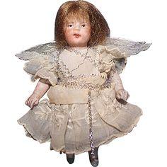 All Bisque Little Angel Doll from sarabernsteindolls on Ruby Lane