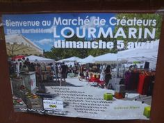 Sunday, April 5th, 2015 - Craft & Design market in Lourmarin