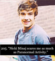 Ha! I cant stand Nicki Minaj...or Paranormal Activity..but PA is more of a extreme fear....
