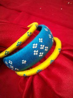 To order WhatsApp 9442146383 Silk Thread Jumkas, Silk Thread Bangles Design, Silk Thread Necklace, Silk Bangles, Beaded Necklace Patterns, Thread Jewellery, Thread Art, Jewelry Patterns, Clay Jewelry