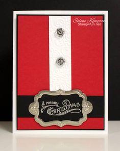 Flourish Designer Frames Bells & Boughs by StampingSelene - Cards and Paper Crafts at Splitcoaststampers
