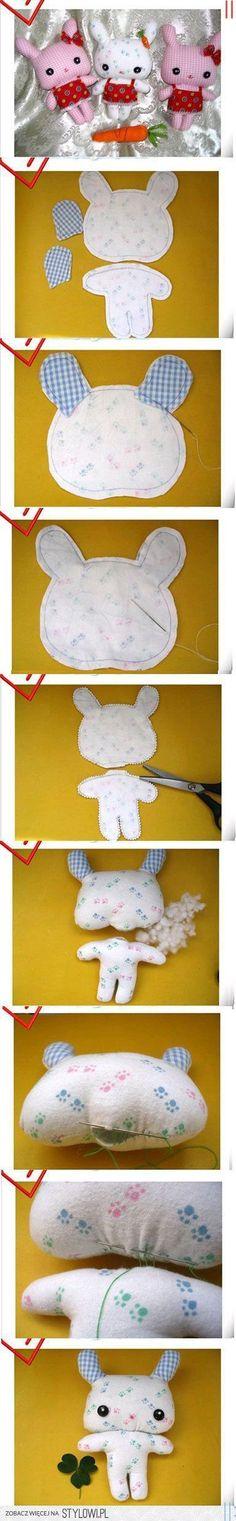 Kumaştan Hello Kitty Bebek Yapmak
