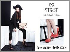 The Official Rockin' Reptile Shoes , Atelier STRUT and Strut Petits Bijoux Website Home page Website Home Page, Parisian Chic, Free Shoes, The Struts, Beautiful Models, Ladies Day, Shoe Brands, Reptiles, Online Boutiques