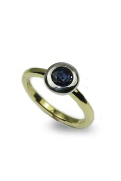Blue Sapphire Ring - View #2