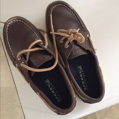 Boys sperry size 2 Brown boat shoes youth size 2 Sperry Top-Sider Shoes