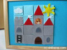 Felt Castle Puzzle 4