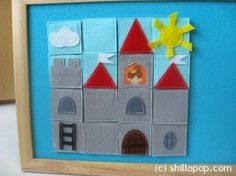 Felt Castle Puzzle