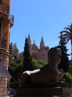 Palma de Mallorca Statue Of Liberty, Travel, Palmas, Majorca, Statue Of Liberty Facts, Viajes, Statue Of Libery, Destinations, Traveling