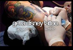 Get A Disney Tattoo