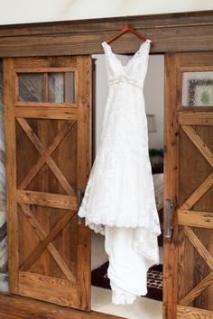 Wedding Gown For A Rustic Wedding