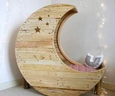 #awesome #moon #bed #interiordecor