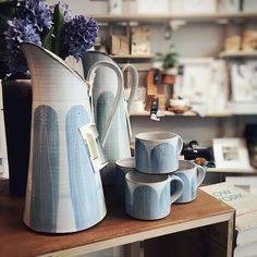 We're very excited to be stocking some of the really unique Caroline Dolan Ceramics! Just arrived yesterday and they're already selling fast! We're open until 5 today if you want to pick yourself up some new Irish craft. Irish Pottery, Irish Design, Ireland, Unique Gifts, Ceramics, Photo And Video, Winter, Crafts, Handmade